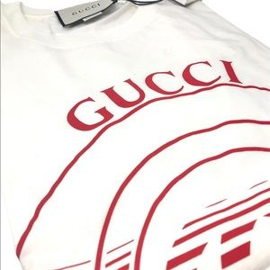 Brand New Gucci G-Loved Cotton Jersey Shirt